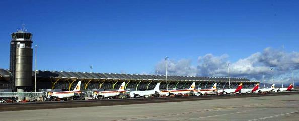 Principales aeropuertos de España