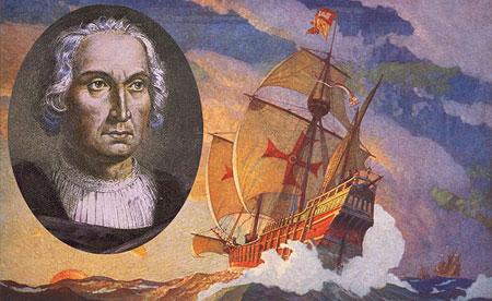 Donde y cuándo salió Cristobal Colón de España