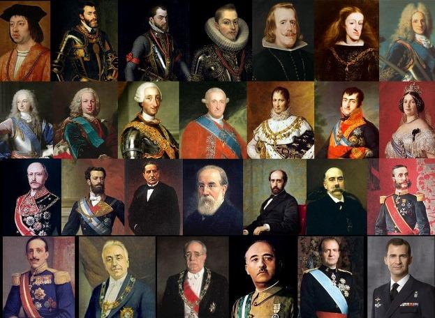 Cuántos reyes ha tenido España