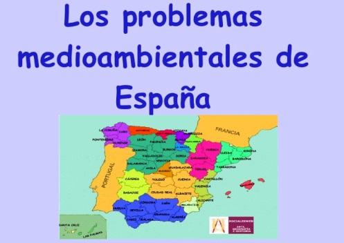 Problemas medioambientales en España