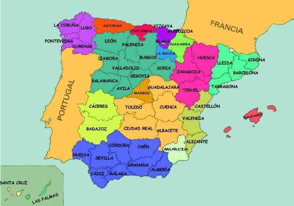 Límites geográficos de España