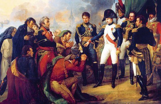 ¿En qué año Napoleón Bonaparte invade España?
