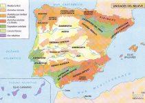 ¿Cuáles son los principales relieves de España?