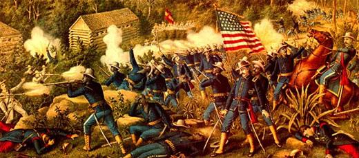 La guerra entre España y Estados Unidos de 1898